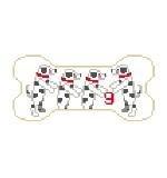Canvas DOG BONE XMAS DALMATION PS209