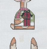 Canvas REINDEER SHELF SITTER  9087