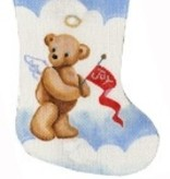 Canvas ANGEL TEDDY IN CLOUDS  CS95A