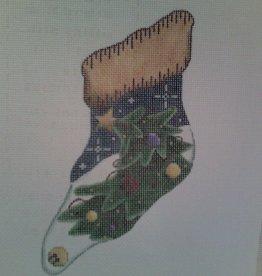 Canvas TREE MINI SOCK  96D