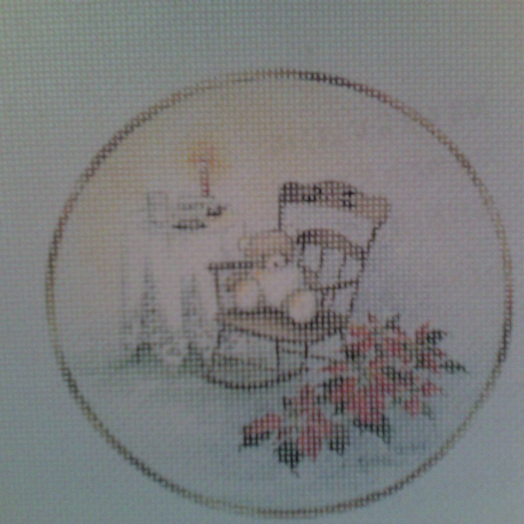 Canvas SALE  -  TEDDY BEAR ROCKER<br /> REG $25