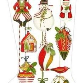 Canvas ORNAMENT STOCKING MLT230