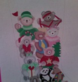 Canvas BEARS STOCKING  176