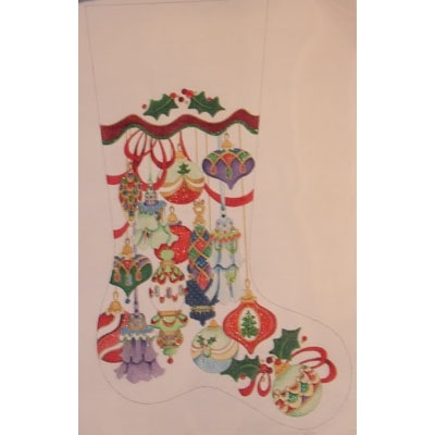 Canvas SPARKLY ORNAMENTS  151P