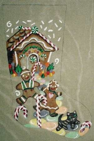Canvas GINGERBREAD HOUSE  JK104