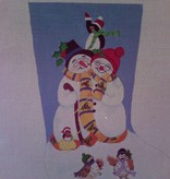 Canvas SNOW FAMILY  DDC30