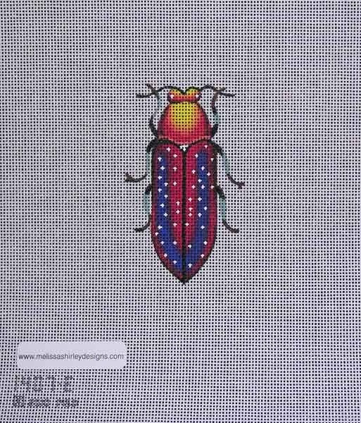 Canvas BEETLE  RED/YELLOW 1407E
