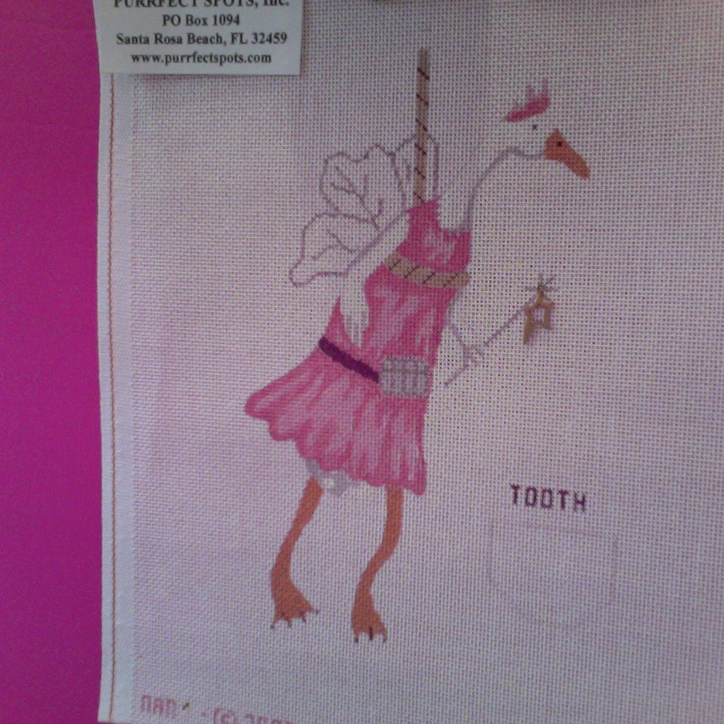 Canvas TOOTH FAERIE  N29