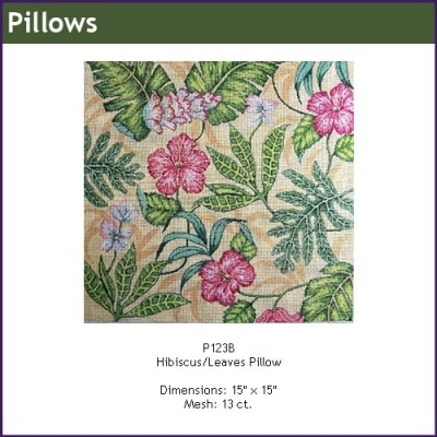 Canvas HIBISCUS  P123B