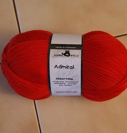 Yarn KNIT RED - SOCK HEART KIT