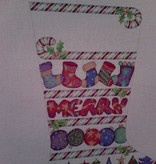Canvas CANDY CANE BORDERS AND PACKAGES  209