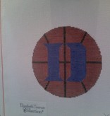 Canvas BASKETBALL ORNAMENT  XO150