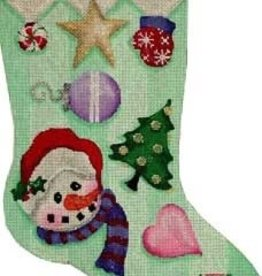 Canvas SNOWMAN CANDY STAR CS231