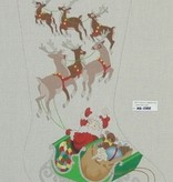 Canvas SANTA REINDEER  XS2302