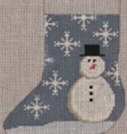 Canvas SNOWMAN STOCKING  STK200