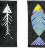 Canvas FISH AND BONES EGC  ZE114
