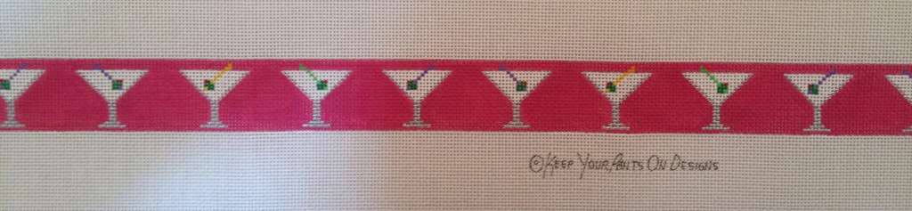 Canvas MARTINIS ON PINK  270A