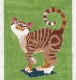Canvas NUZZLING CAT 85