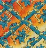 Canvas FLURRY OF FROGS  PC10B