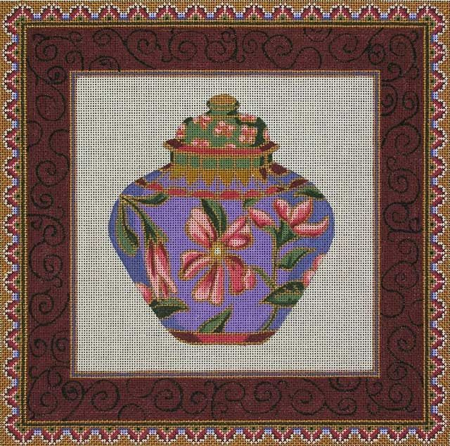 Canvas CHINESE PURPLE GINGER JAR