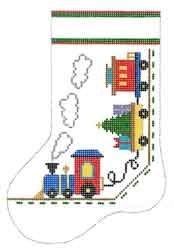 Canvas TRAINS MINI SOCK  CD0750