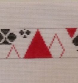 Canvas PLAYING CARDS BELT B253
