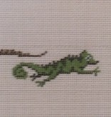 Canvas FROGS AND LIZARDS BELT  6300