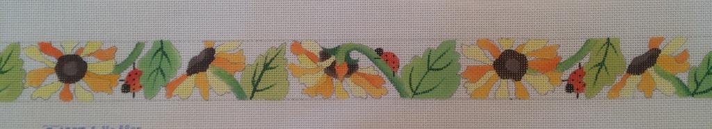 Canvas LADYBUGS AND FLOWERS BELT  18513