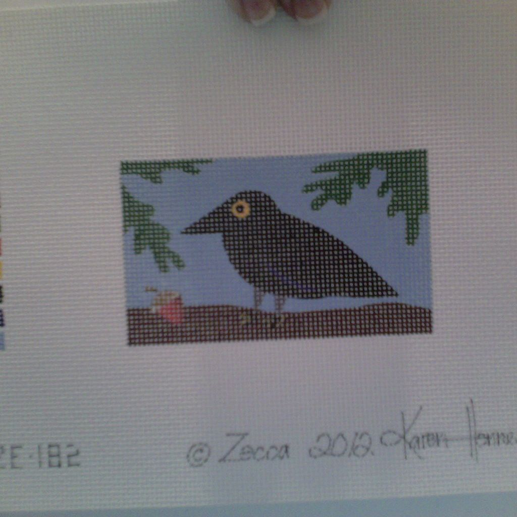 Canvas LITTLE CROW  ZE182