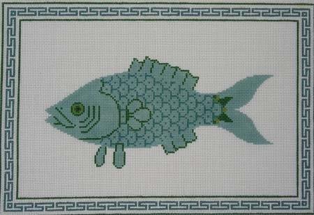 Canvas BLUE FISH  JR18