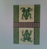 Canvas SALE  -  FROG CREDIT CARD COVER  CCL20  REG $52