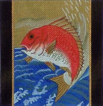 Canvas KOI ON BLUE  B71A