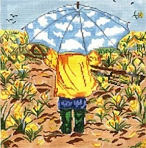 Canvas APRIL SHOWERS  SWB125
