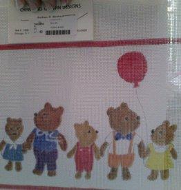 Canvas TEDDY BEARS