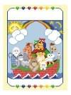 Canvas NOAH  CO BIRTH SAMPLER  1206