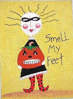 Canvas SMELL MY FEET  M926