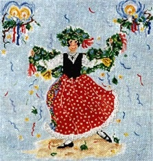 Canvas MA PETITE AMIE NOEL  SWB160