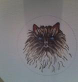 Canvas PERSIAN CAT  ND0108 - SALE<br /> REG 28.00