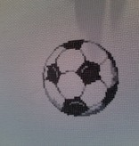 Canvas SOCCER BALL  2323