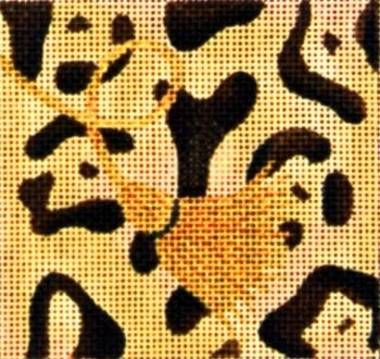 Canvas GIRAFFE SKIN COASTER  A185