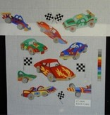 Canvas RACE CARS DIRECTOR CHAIR  CC0008  SALE<br /> REG $72.00