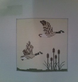 Canvas GEESE 4X4  CTR108