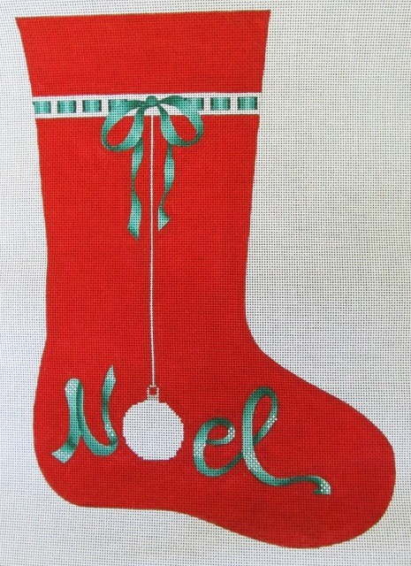 Canvas NOEL STOCKING  DK1A