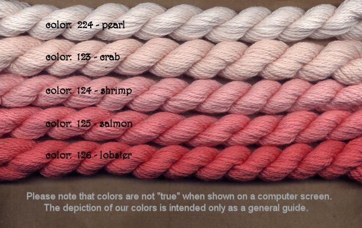 Fibers Silk and Ivory    CRAB