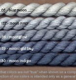 Fibers Silk and Ivory    MOON INDIGO