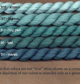 Fibers Silk and Ivory    TEAL