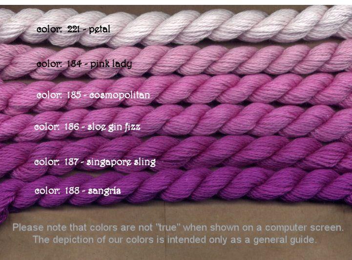 Fibers Silk and Ivory    SINGAPORE SLING