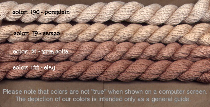 Fibers Silk and Ivory    PORCELAIN