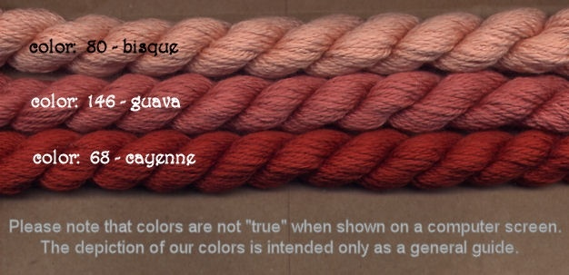 Fibers Silk and Ivory    GUAVA