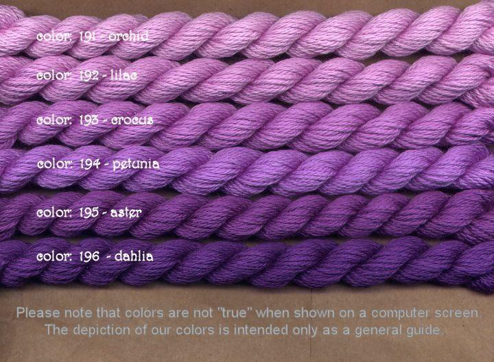 Fibers Silk and Ivory    LILAC